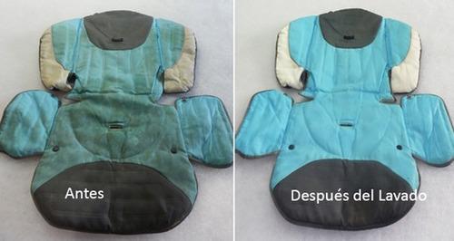 limpieza y desinfección de cochecitos de bebé y butacas