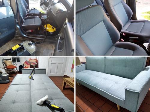 limpieza y desinfección de tapizados, sillones, alfombras