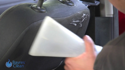 limpieza y lavado de tapizados de autos a domicilio