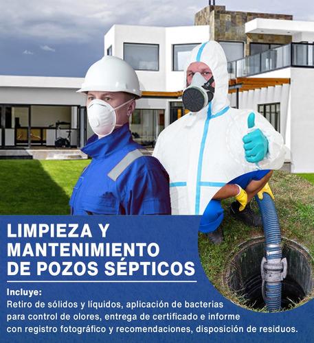 limpieza y mantenimiento de pozos sépticos