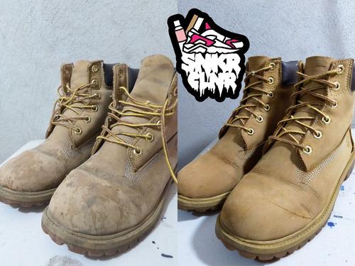 limpieza y mantenimiento de sneakers