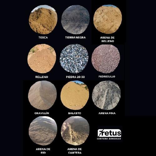 limpieza y nivelación de terrenos - relleno balastro arena.