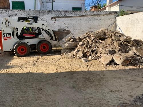limpieza y relleno de terreno