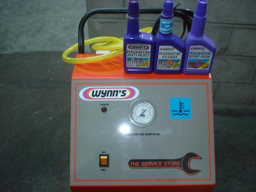 limplieza de radiador y circuito de refrigeración