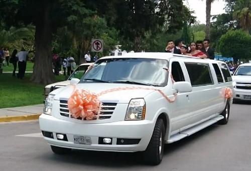 limusin,limusina,limousine para xv años y bodas renta tula