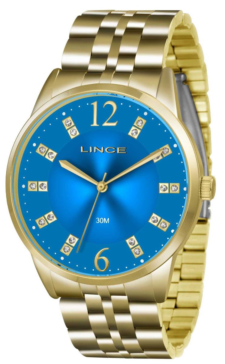 245219258a2 Relógio Lince Feminino Dourado Lrgj044l D2kx Original + Nf - R  199 ...