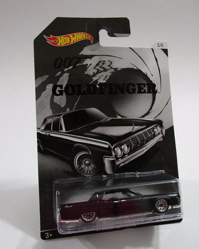 lincoln continental james bond escala coleccion hot wheels