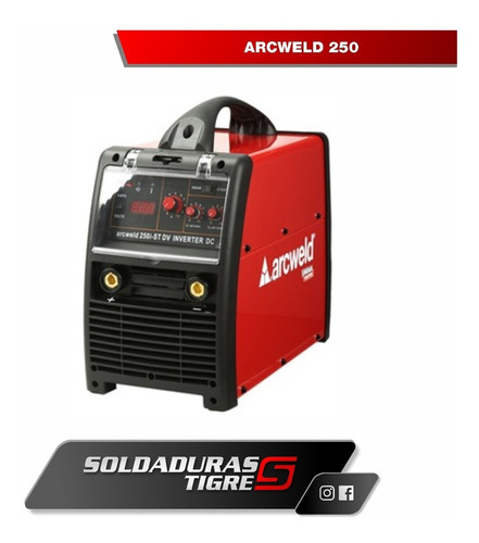 lincoln electric arcweld 250 6 cuotas