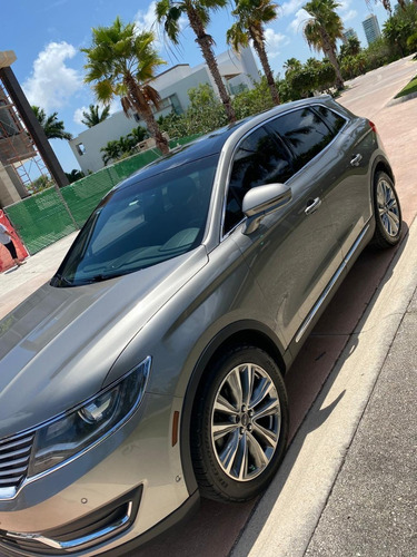 lincoln mkx reserve awd 2016 plata