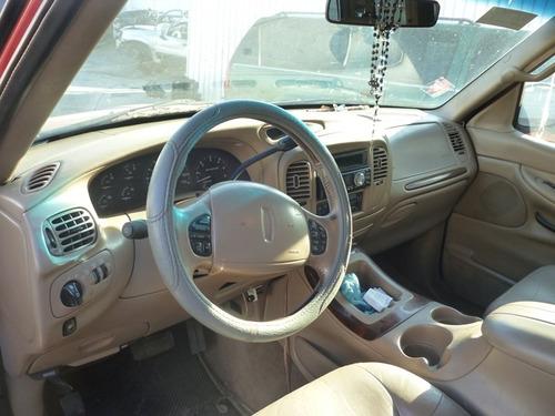 lincoln navigator 2002,accidentada,motor 5.4,4x2,nacional