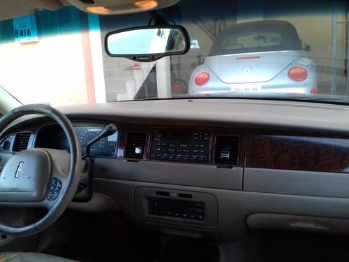 lincoln town car 2000 excelente
