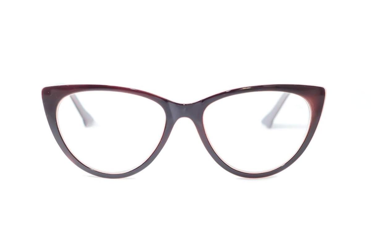 linda armação gatinho ideal óculos de grau feminino barato. Carregando zoom. bb3e1c0290