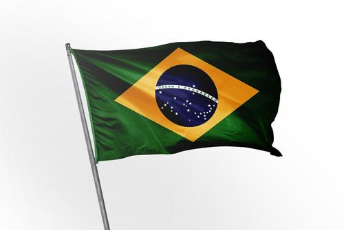 linda bandeira oficial do brasil - gigante! 2,00x1,40m!