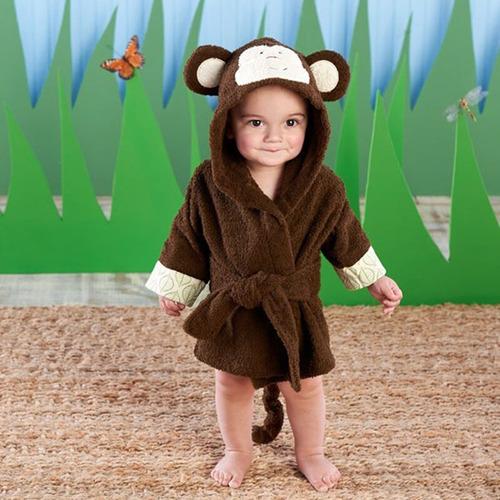 linda bata toalla para bebes de animales (salida de baño)