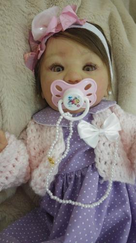 linda bebê reborn letícia! promoção!! frete grátis!!