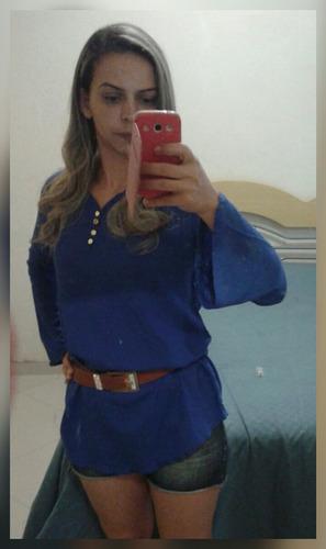 linda blusa em viscose