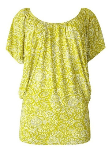 linda blusa estampada ( vestido sapato perfume saia camisa )