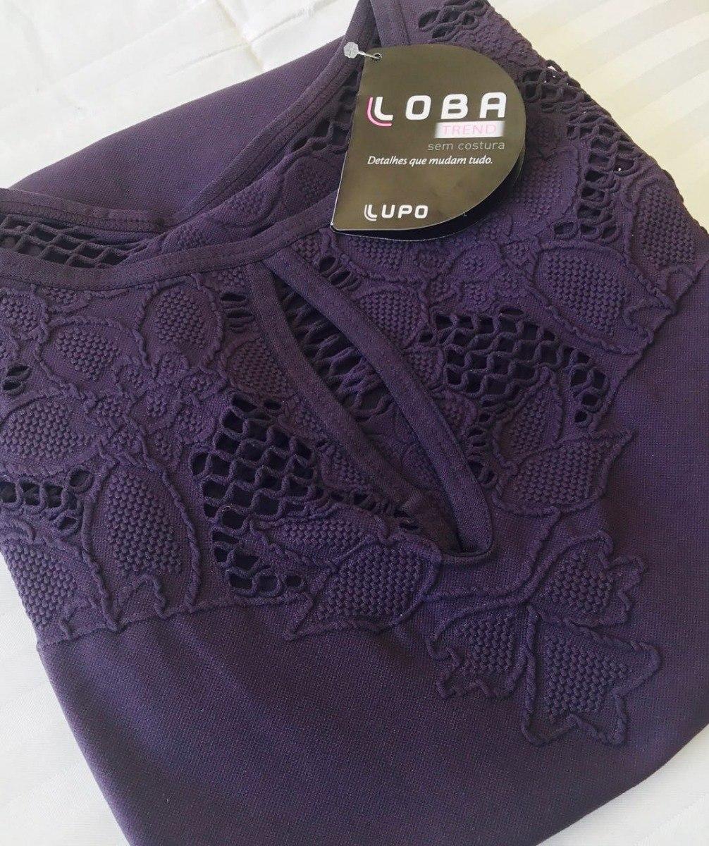 acf78d0a6 linda blusa loba lupo trend decote gota! sem costura! cores! Carregando  zoom.