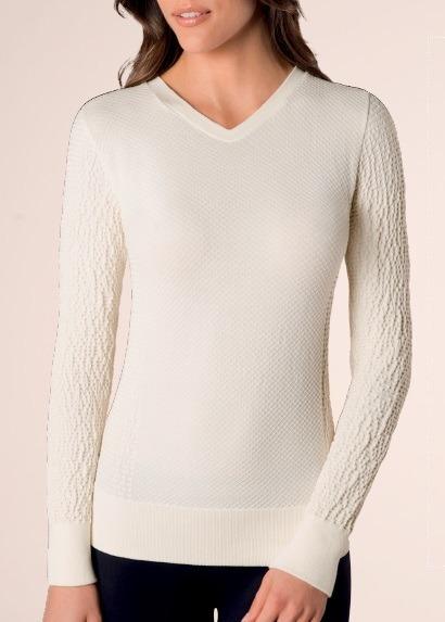 4d363667d5 Linda Blusa Modal Com Textura Sem Costura Loba Lupo Cores! - R  89 ...