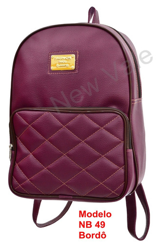 linda bolsa feminina modelo mochila varejo e atacado