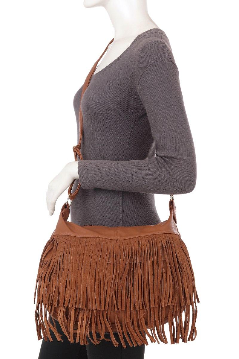 Bolsa Feminina Saco Com Franjas : Linda bolsa feminina transversal tiracolo saco de franja