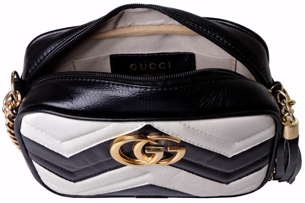 f896c4681 Linda Bolsa Gucci Gg Marmont Matelassê Modelo 2018 Off 30 % - R$ 79 ...