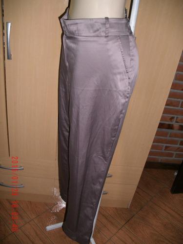 linda calça  acetinada  plus size    -        tam: 48