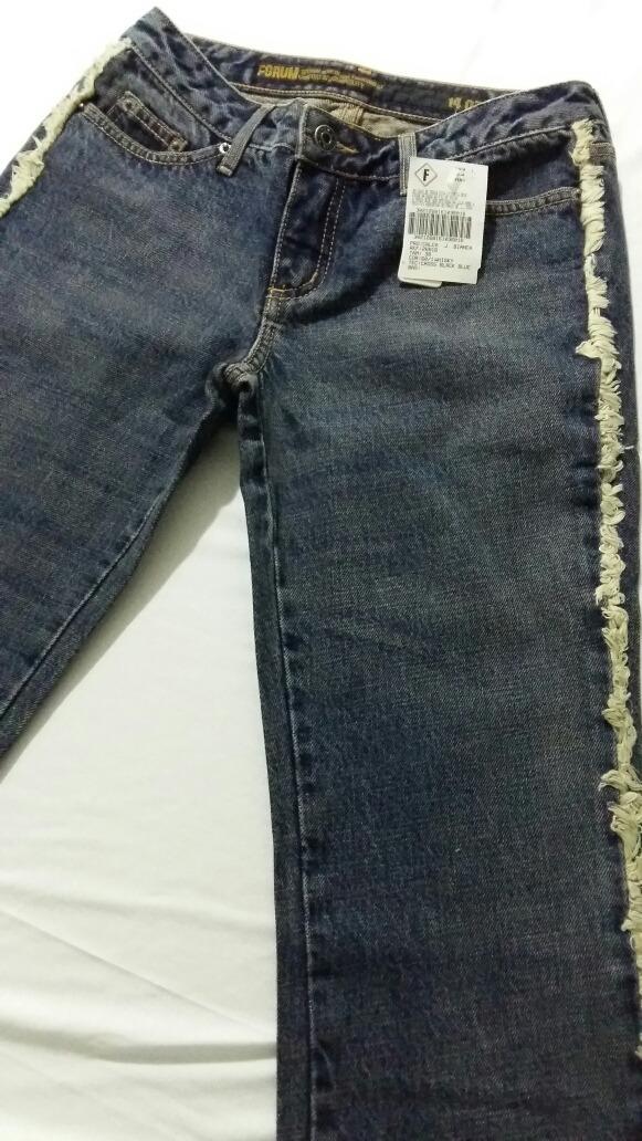 349cd10a3 Linda Calça Forum Jeans Bianca,fem,cint.baixa,oferta! - R$ 48,90 em ...