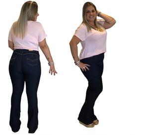 56f8c6b2d Calcas Femininas Jeans Baratas - Calças Femininas Jean com o Melhores Preços  no Mercado Livre Brasil