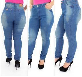 61d08ff4924e Linda Calça Jeans Da Acr Fashion - Calças Femininas Jean com o Melhores  Preços no Mercado Livre Brasil