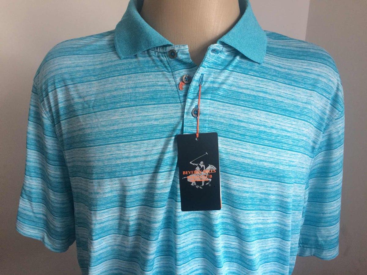 747e43b1fa linda camisa beverly hills polo club xxl azul claro nova. Carregando zoom.
