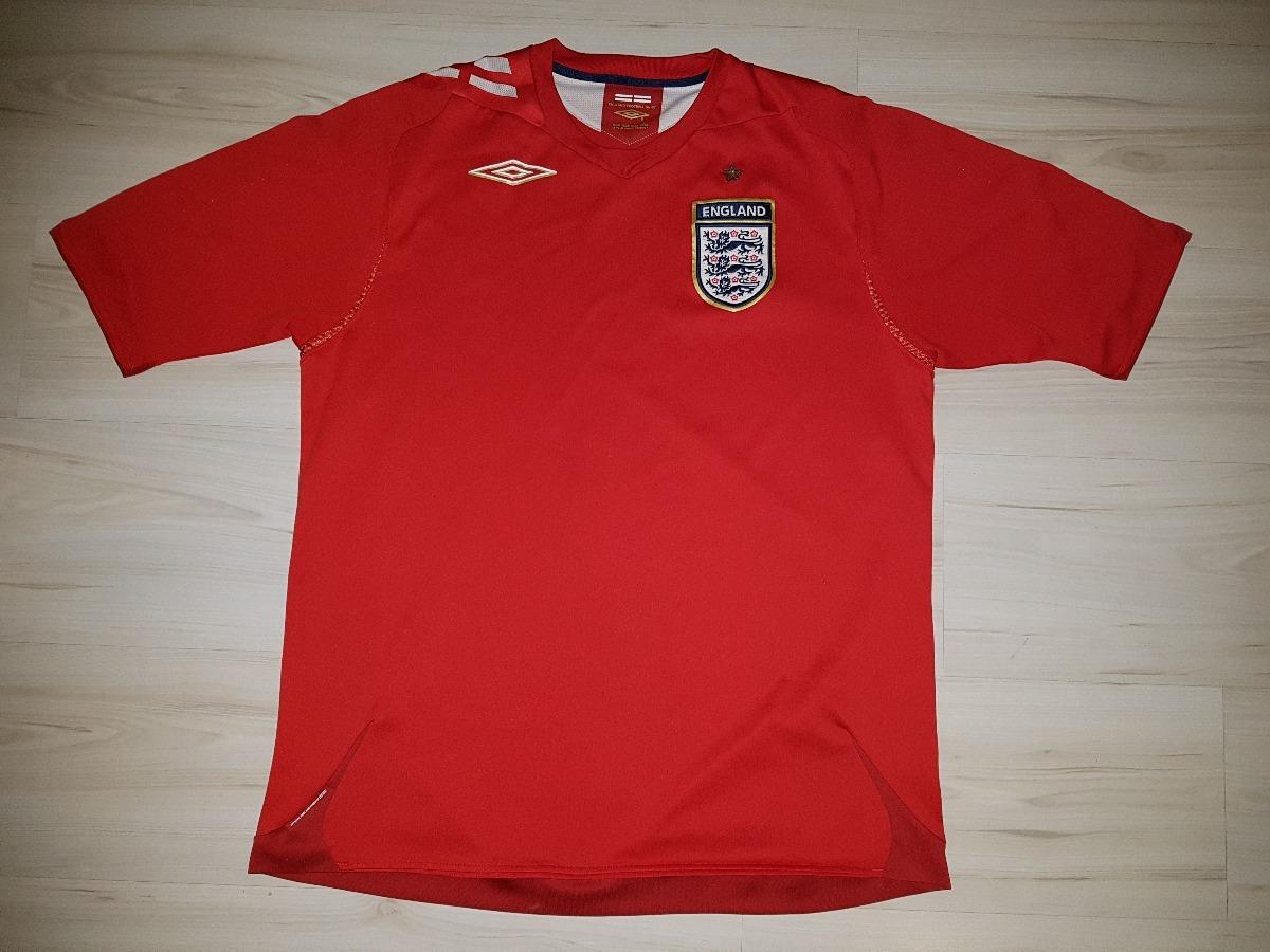 d6fbf0ea8c linda camisa da seleção da inglaterra 2006 umbro england. Carregando zoom.