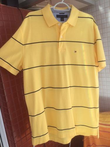 linda camisa tommy hilfinger importada amarela original