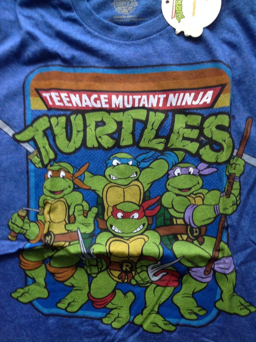 Linda Camiseta Tartarugas Ninjas Desenho Animado R 50 00 Em