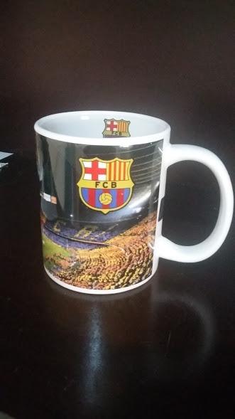 3a97272986 Linda Caneca Personalizada Do Fc Barcelona Produto Oficial - R  40 ...