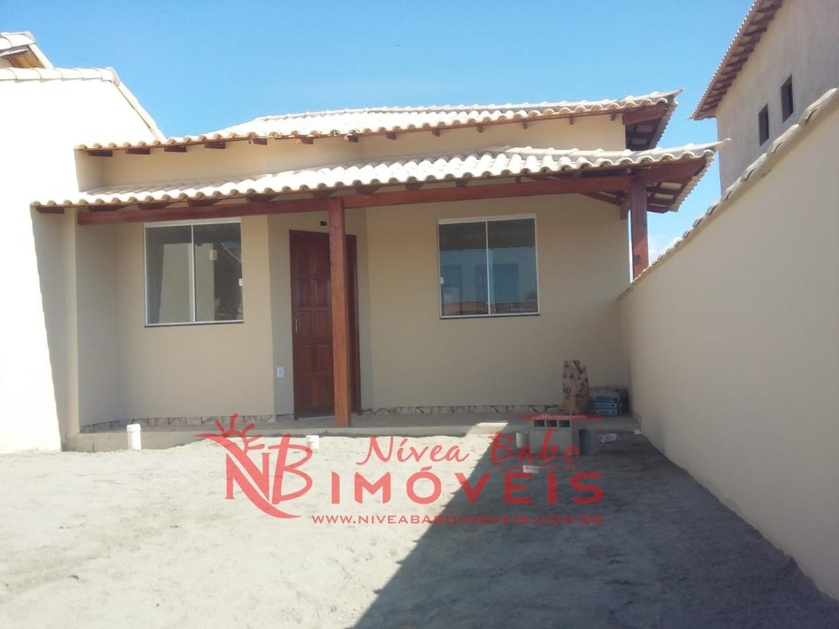linda casa 1° locação, lado praia, unamar cabo frio - vcap 082 - 32542544