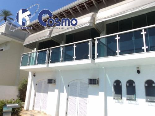 linda casa, á venda,  no residencial península  - guarujá, praia da enseada - ca00019 - 4243817