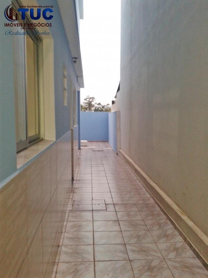 linda casa c/ 02 dorms, 01 vaga, com quintal! jd união s.b.c - 3034