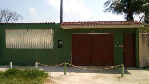 linda casa c/ 2 dorm. em itanhaém, confira! ref 3363-p