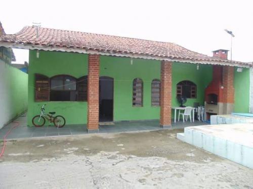 linda casa cm piscina na praia, 3 quartos, com escritura!