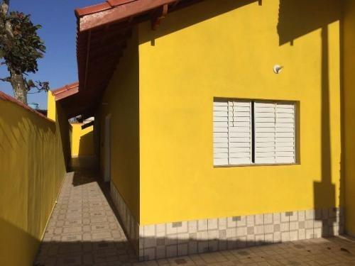 linda casa com 2 quartos e escritura no lado praia, itanhaém