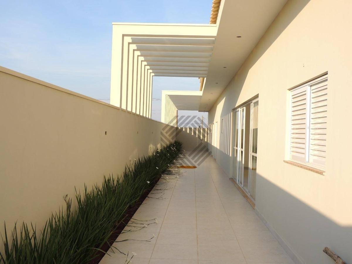 linda casa com 4 suítes à venda, 360 m² - condomínio residencial evidence - araçoiaba da serra/sp - ca6665