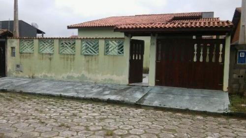 linda casa com escritura, lado praia, 3 dorm, 500m do mar.