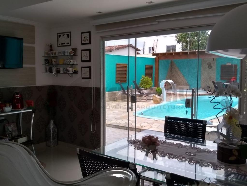 linda casa com piscina no jardim britânia - caraguatatuba - ca0136