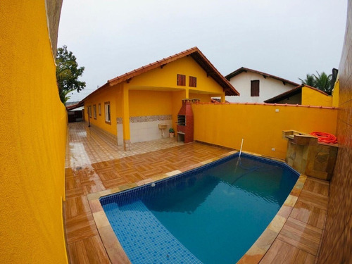 linda casa com piscina no litoral!!   ref. ca0006