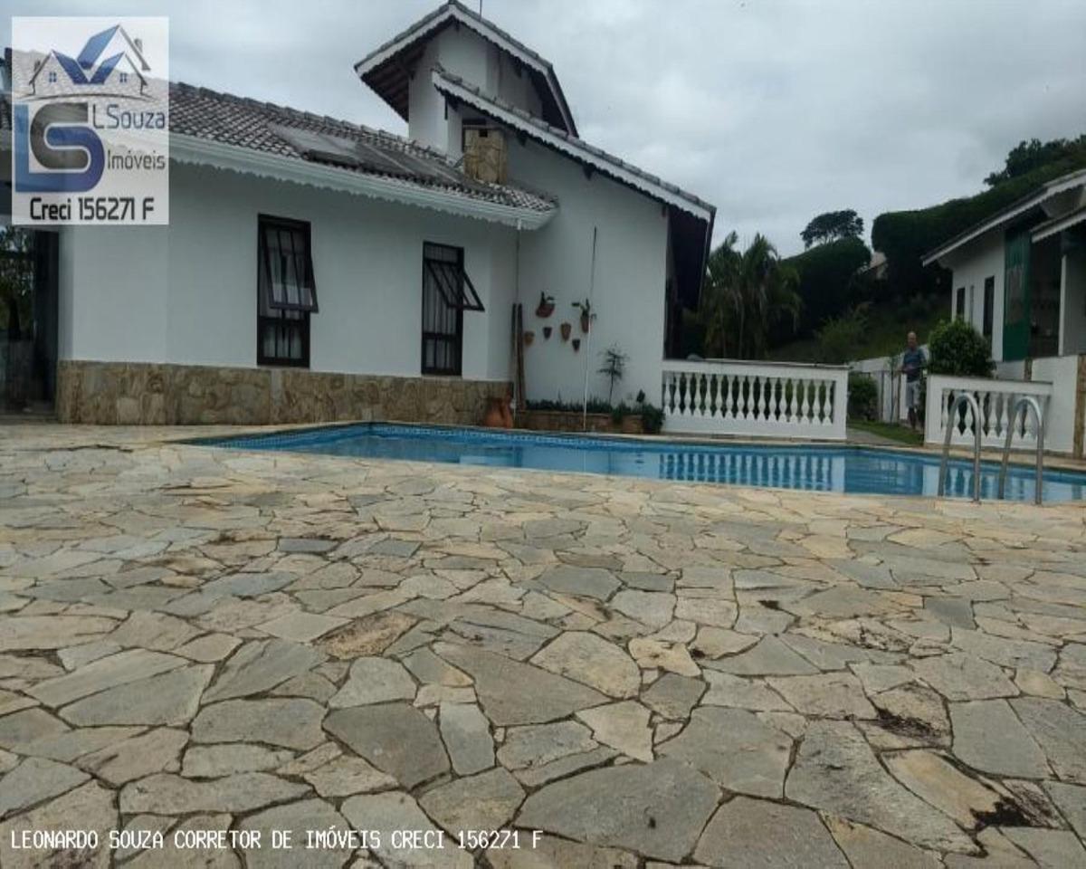 linda casa de alto padrão no condomínio jardim das palmeiras em bragança paulista / sp - 699 - 34064643
