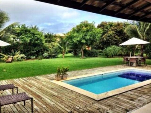 linda casa de luxo duplex em condomínio fechado com 4 suítes na praia do forte - leo177 - 4496318