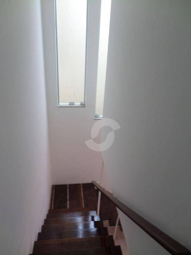 linda casa duplex de 3 quartos em cond. fechado, no mutondo, são gonçalo. - ca1515