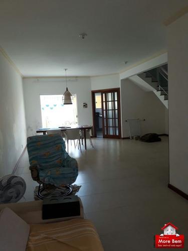 linda casa duplex de frente para a lagoa! - cs-1121