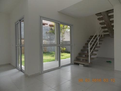 linda casa em condomínio 3 dormitórios. ref 76582